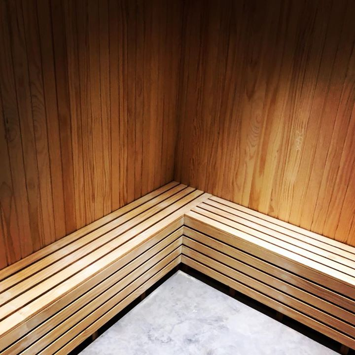 Handcrafted Sauna Room, soundproofed, Acoustically Treated, Real Solid Pine Wood