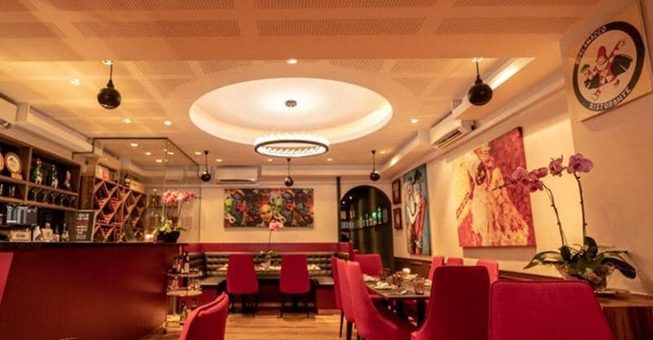 Acoustic Design and build restaurant The Burlomacco at 30 Stanley street Singapore